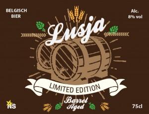 Limited Edition - Lusja na 6 maanden rijping op eiken vaten.